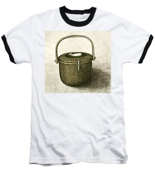 Nantucket Basket Baseball T-Shirt by Charles Harden