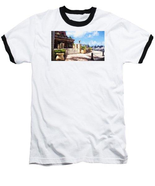 Naples Scenic Places Baseball T-Shirt
