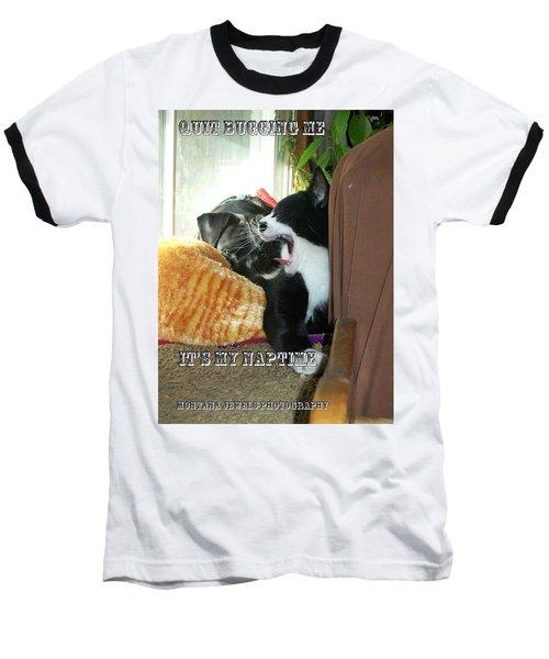 Naptime Baseball T-Shirt