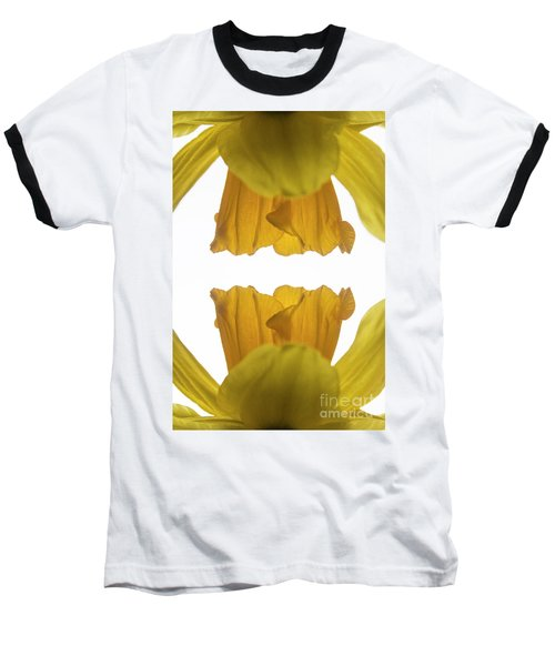 Narcissus Baseball T-Shirt by Ana Mireles
