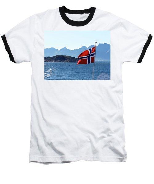 National Day Of Norway In May Baseball T-Shirt by Tamara Sushko