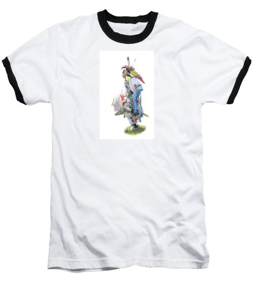 Native American Dancer Baseball T-Shirt