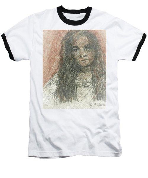 Native American Girl Baseball T-Shirt