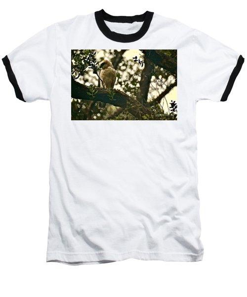 The Golden 'io Hawaiian Hawk Baseball T-Shirt