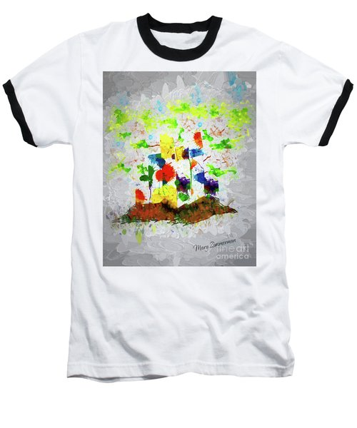Nature Fantasy Trees Baseball T-Shirt