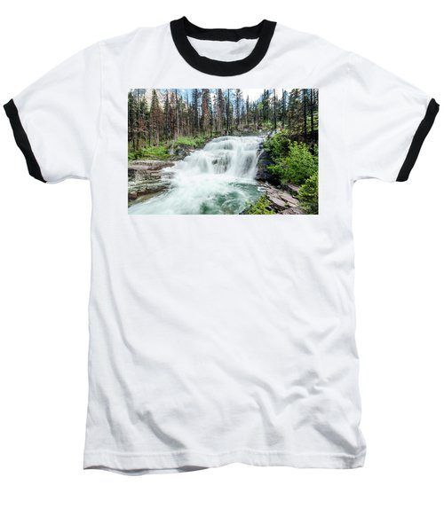 Nature Finds A Way Baseball T-Shirt