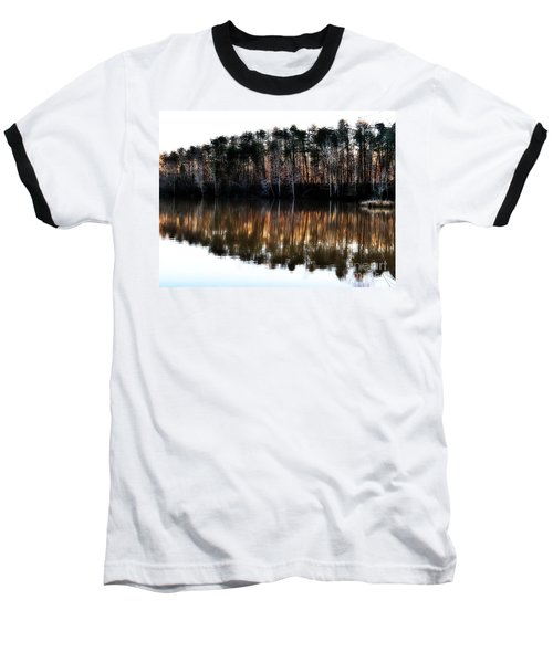 Nature's Design  Baseball T-Shirt by Christy Ricafrente