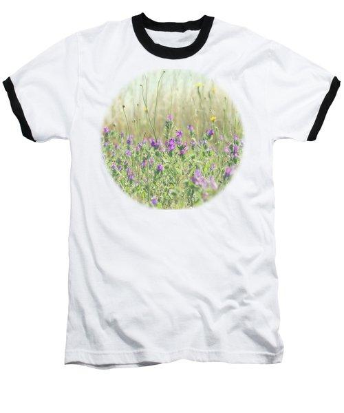 Nature's Graffiti Baseball T-Shirt by Linda Lees