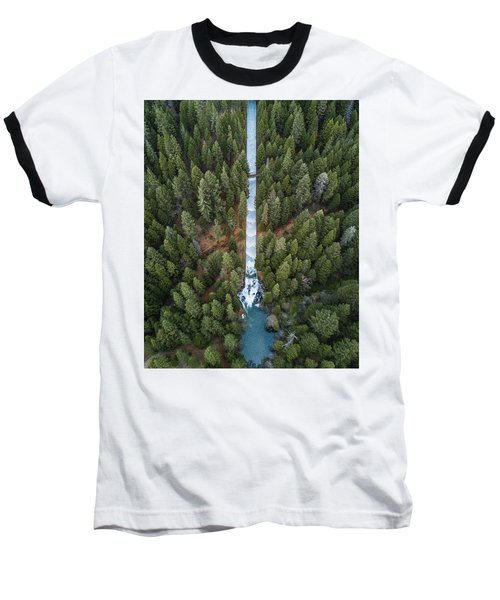 Natures Waterslide  Baseball T-Shirt