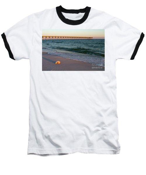 Nautilus And Pier Baseball T-Shirt
