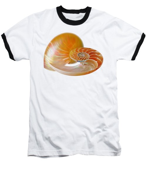 Nautilus Golden Glow Baseball T-Shirt