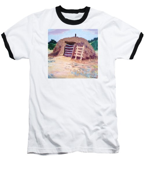 Navajo Hogan Baseball T-Shirt