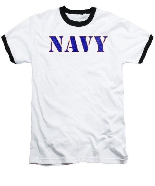 Navy Baseball T-Shirt