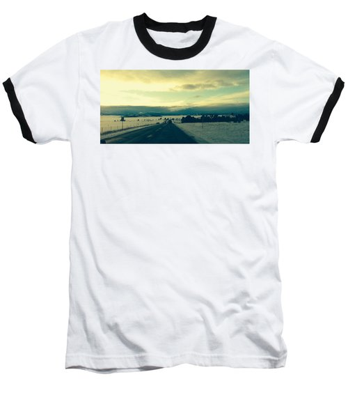Near Hartsel Baseball T-Shirt by Christin Brodie
