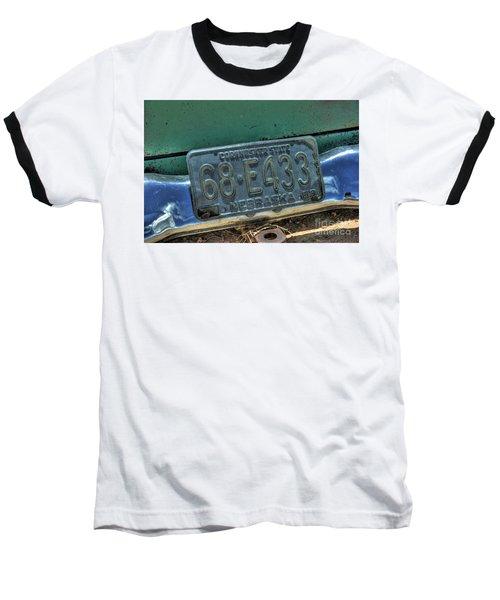 Nebraska Plate Baseball T-Shirt