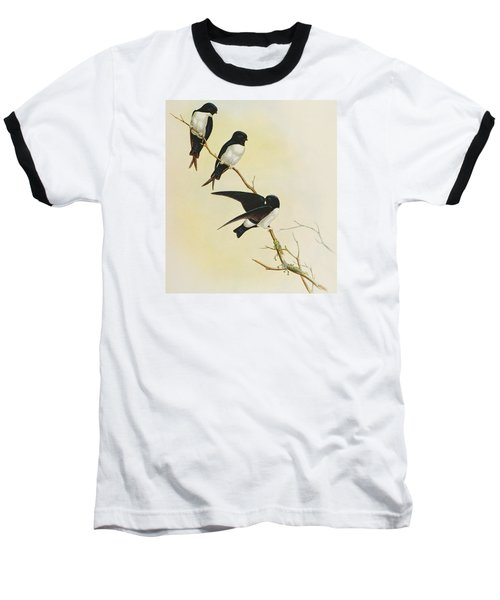 Nepal House Martin Baseball T-Shirt