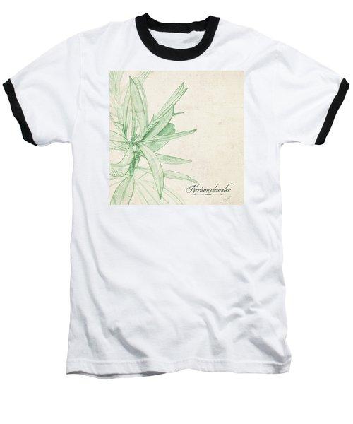 Nerium Oleander Baseball T-Shirt