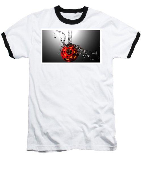 Nested Dodecahedron 001 Baseball T-Shirt