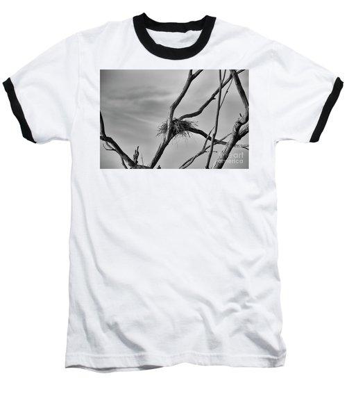 Baseball T-Shirt featuring the photograph Nested by Douglas Barnard