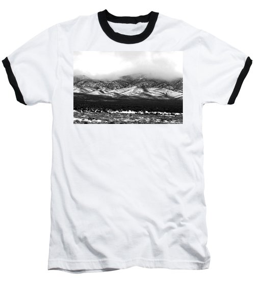 Nevada Snow Baseball T-Shirt