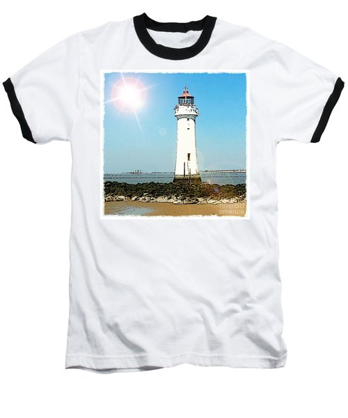 New Brighton Lighthouse Baseball T-Shirt