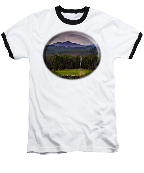 Baseball T-Shirt featuring the photograph New England Spring In Oil by Mark Myhaver