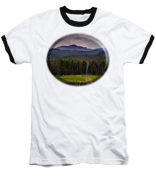 New England Spring In Oil Baseball T-Shirt