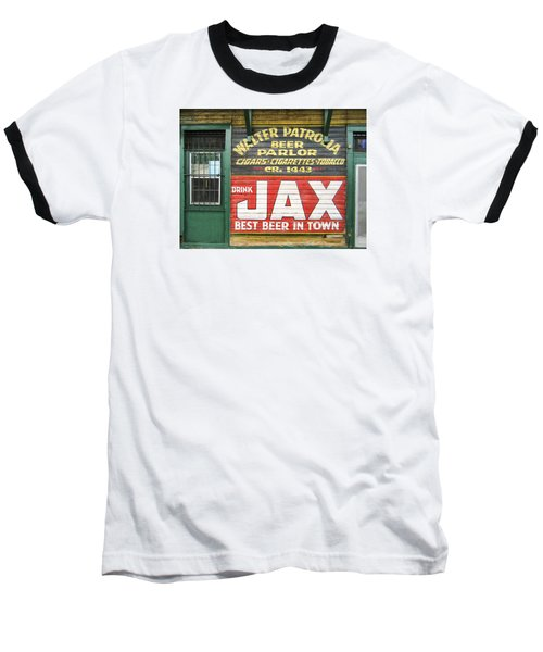 New Orleans Beer Parlor Baseball T-Shirt