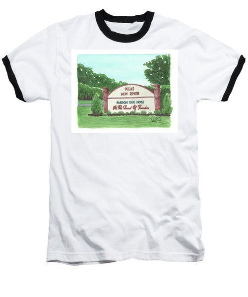 New River Welcome Baseball T-Shirt