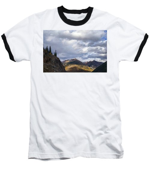 Peeking At The Peaks Baseball T-Shirt