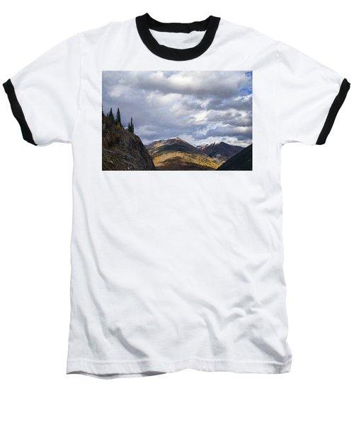 Peeking At The Peaks Baseball T-Shirt