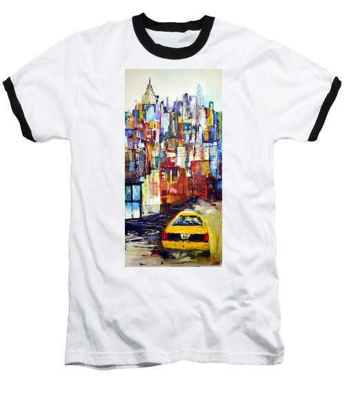 New York Cab Baseball T-Shirt