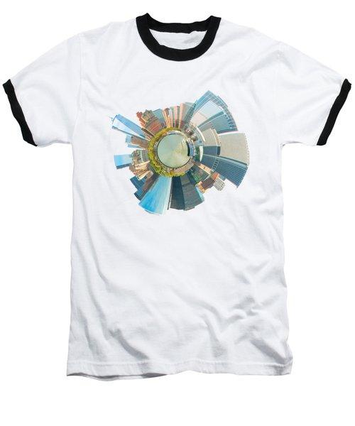 New York Circle Baseball T-Shirt