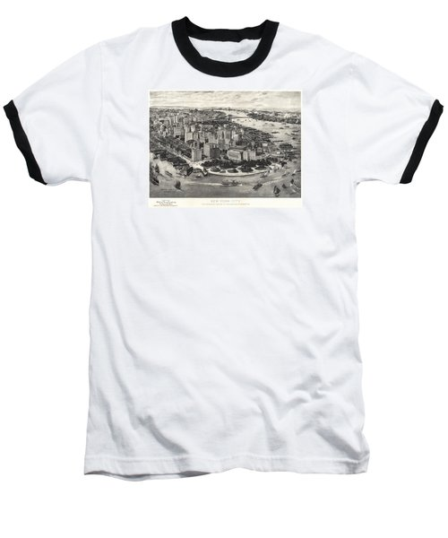 New York City Manhattan 1905 Baseball T-Shirt