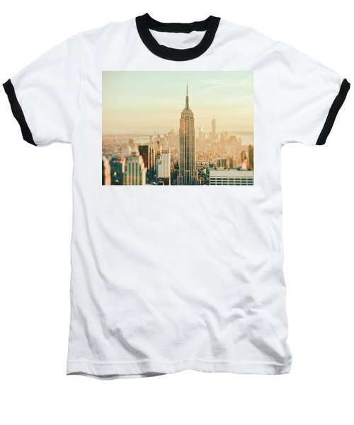 New York City - Skyline Dream Baseball T-Shirt