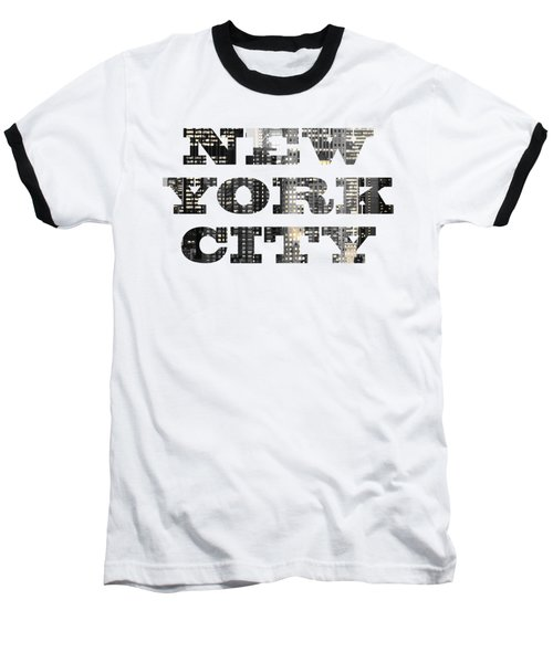 New York Shapes Tee 092717 Baseball T-Shirt