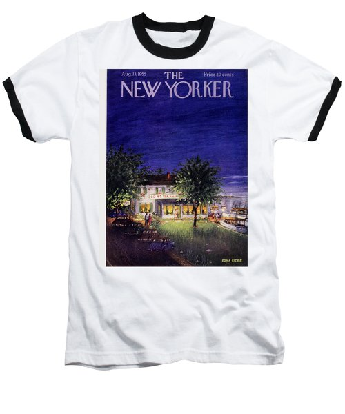 New Yorker August 13 1955 Baseball T-Shirt