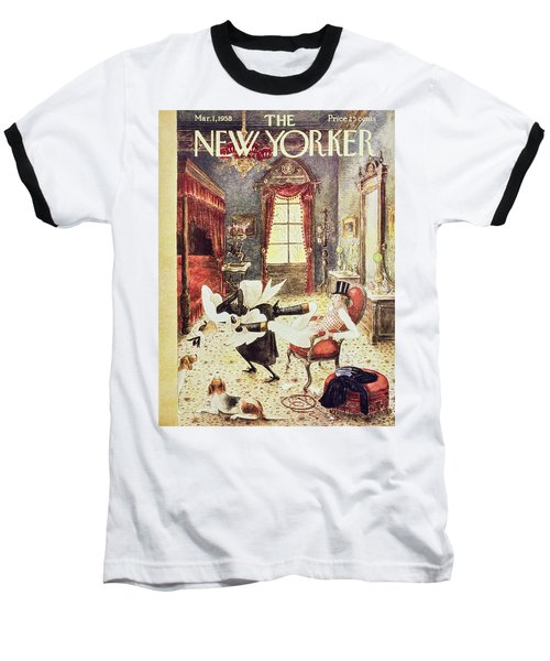 New Yorker March 1 1958 Baseball T-Shirt