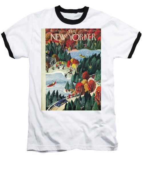 New Yorker October 18 1941 Baseball T-Shirt