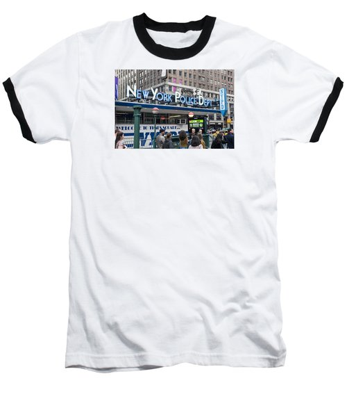 New York's Finest Baseball T-Shirt by Allen Carroll