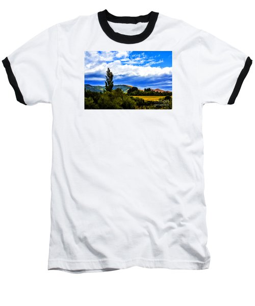 Baseball T-Shirt featuring the photograph New Zealand Legacy by Rick Bragan