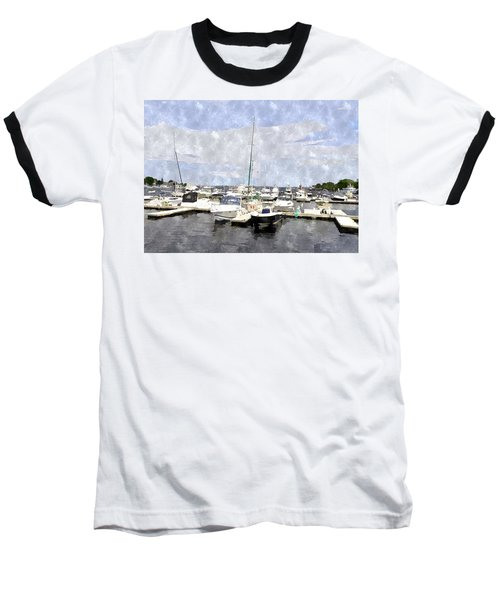 Newburyport Harbor Nhwc Baseball T-Shirt