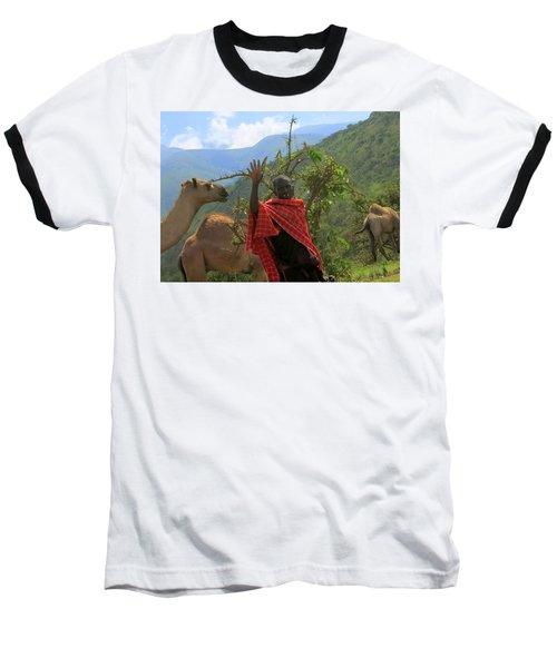 Ngorongoro Herder Baseball T-Shirt