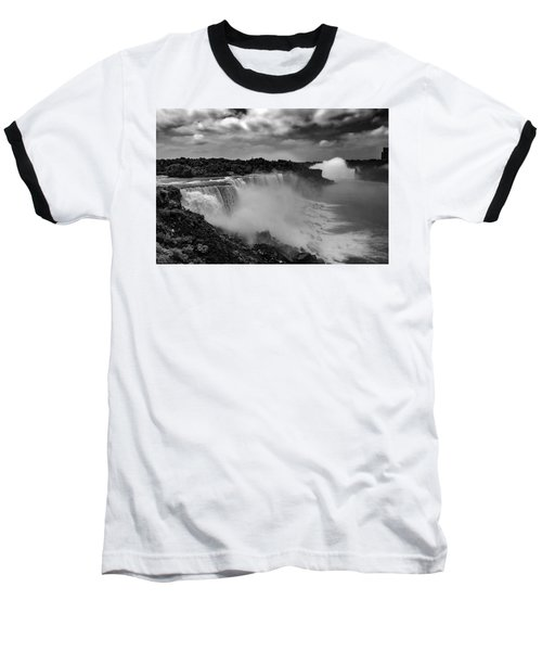 Baseball T-Shirt featuring the photograph Niagra Falls by Jason Moynihan