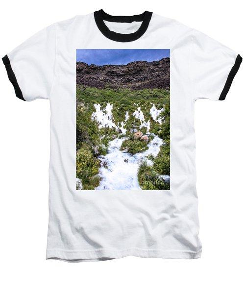 Niagra Springs Idaho Journey Landscape Photography By Kaylyn Franks  Baseball T-Shirt