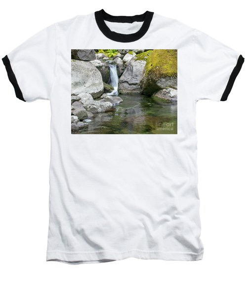 Nickel Creek 1019 Baseball T-Shirt by Chuck Flewelling
