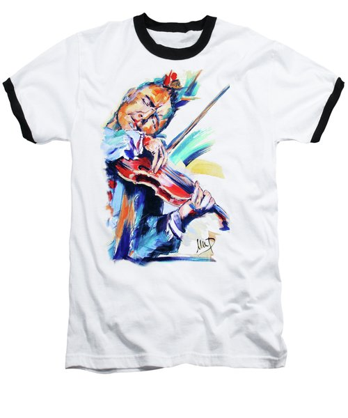 Nigel Kennedy Baseball T-Shirt
