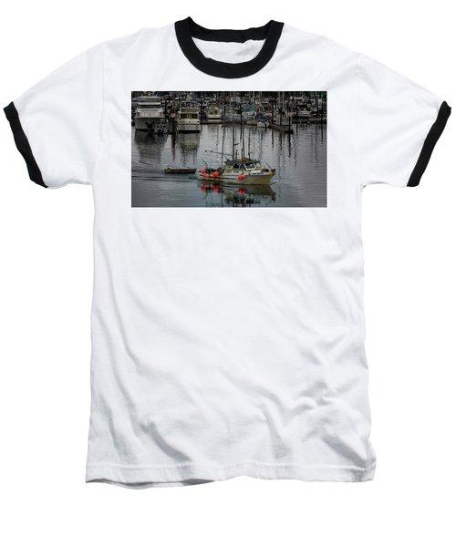 Night Drifter Baseball T-Shirt by Randy Hall
