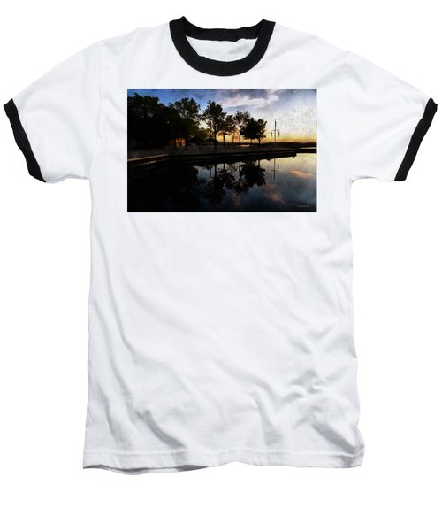 Night Harbour Baseball T-Shirt