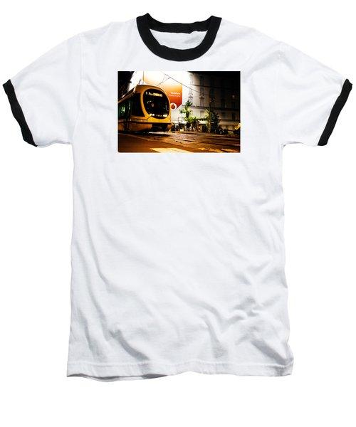 Night Walk In Milan Baseball T-Shirt